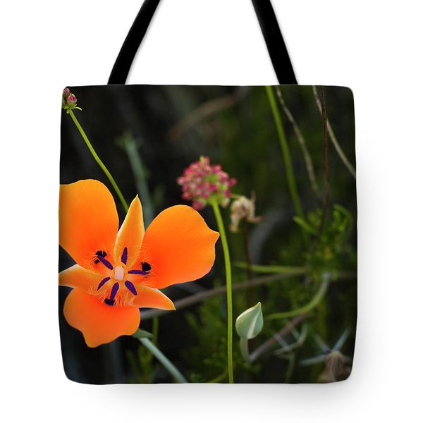 Tote Bag featuring the photograph Desert Flower 3 by Penny Lisowski