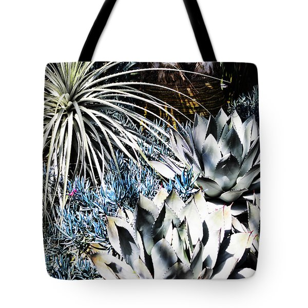 Tote Bag featuring the photograph Desert Garden by Judy Wolinsky