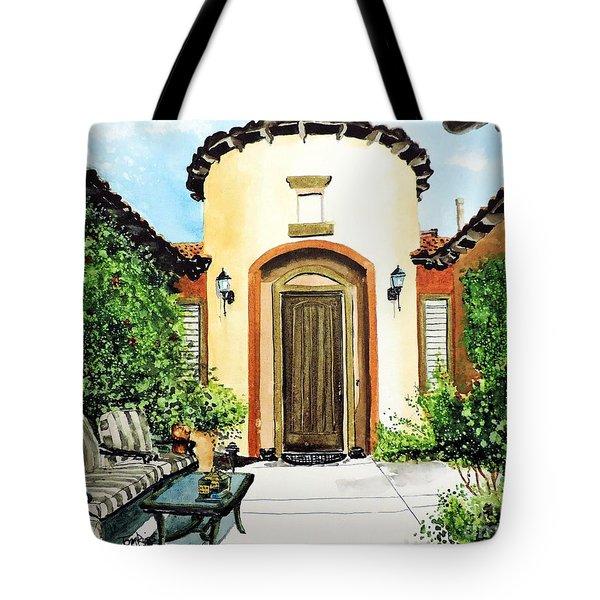 Desert Getaway Tote Bag by Tom Riggs