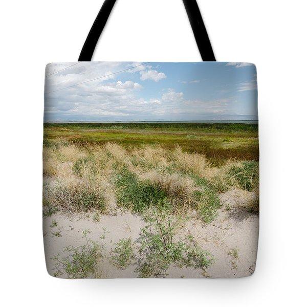 Desert Grass Tote Bag