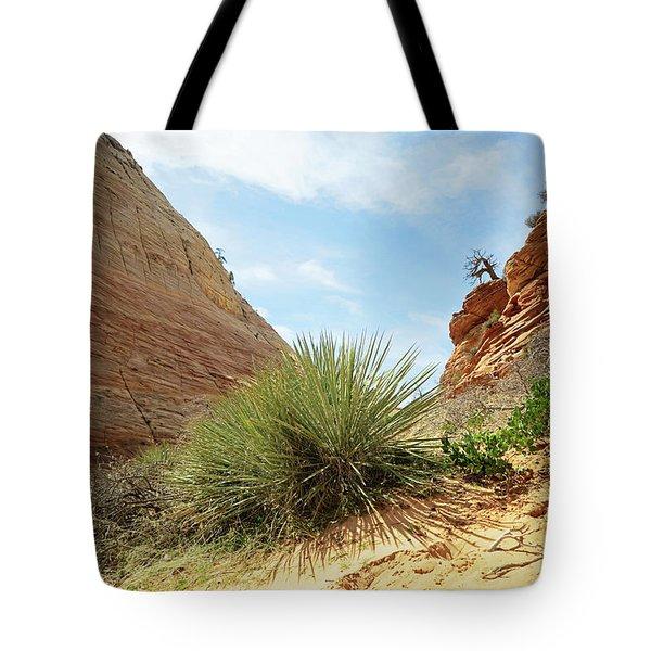 Desert Greenery Tote Bag