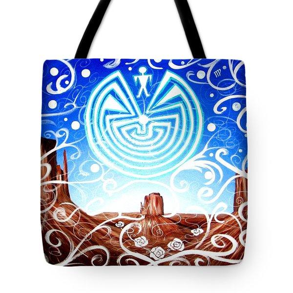 Desert Hallucinogens Tote Bag