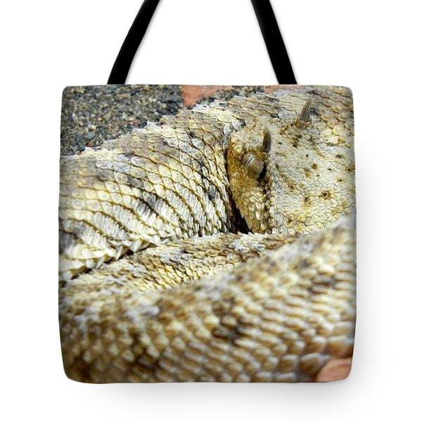 Desert Horned Viper Tote Bag