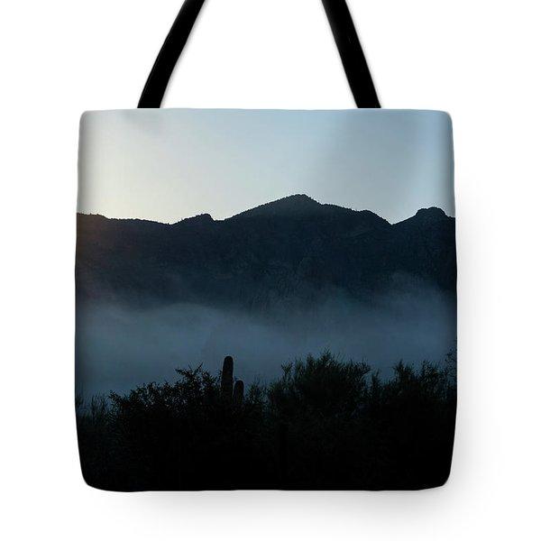 Desert Inversion Sunrise Tote Bag