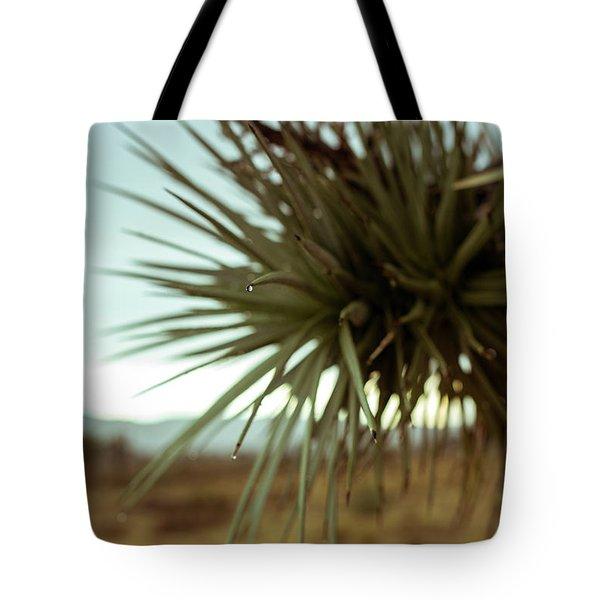 Desert Leaves Tote Bag