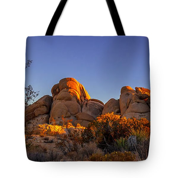 Tote Bag featuring the photograph Desert Light by Jason Roberts