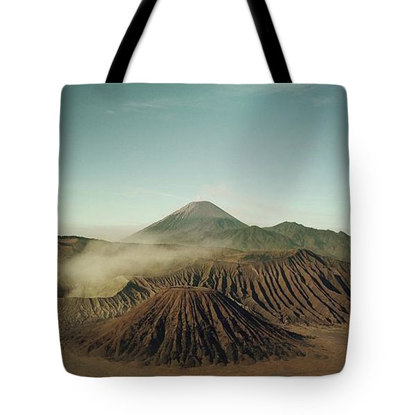 Tote Bag featuring the photograph Desert Mountain  by MGL Meiklejohn Graphics Licensing