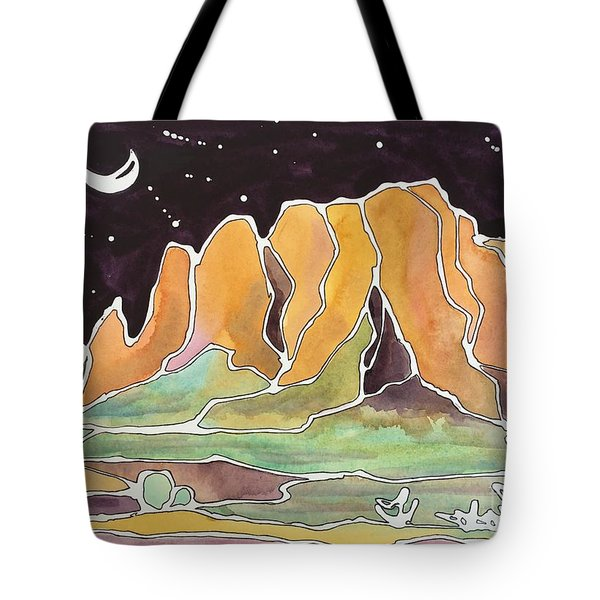 Desert Night Tote Bag
