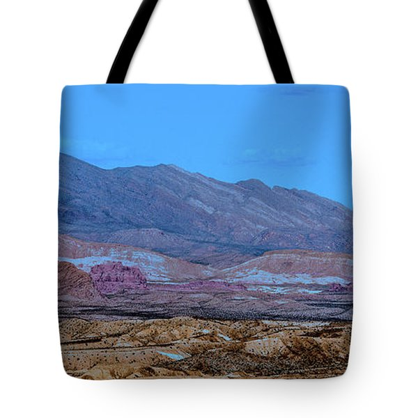 Tote Bag featuring the photograph Desert Night by Onyonet  Photo Studios