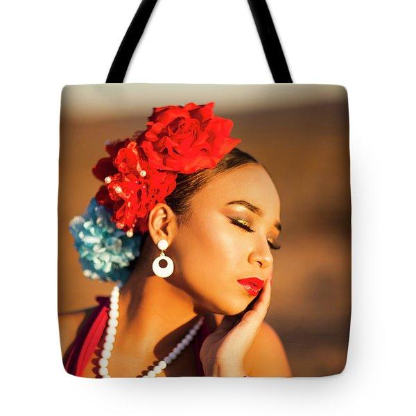 Desert Pearl Tote Bag