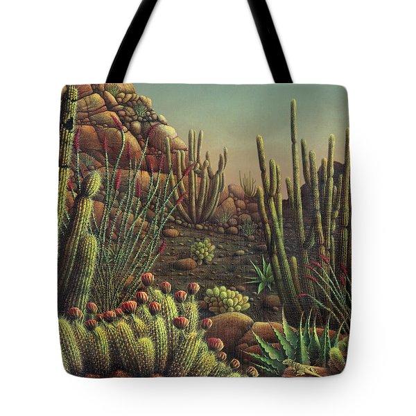 Desert Potpourri  Tote Bag by James Larkin