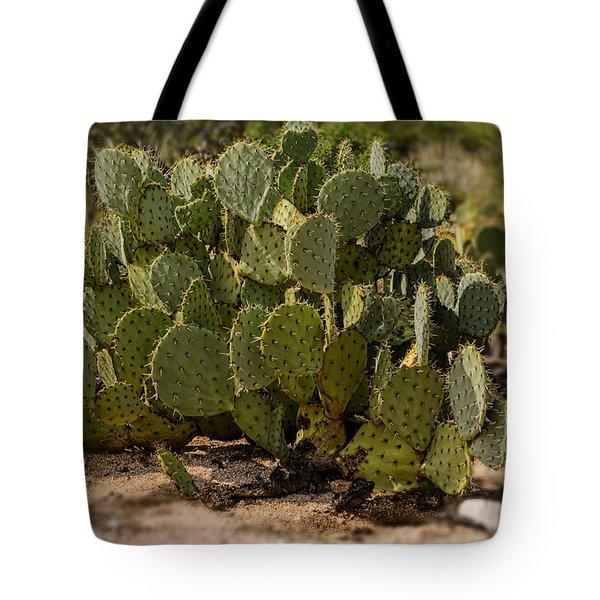 Desert Prickly-pear No6 Tote Bag