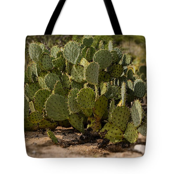Desert Prickly-pear No6 Tote Bag