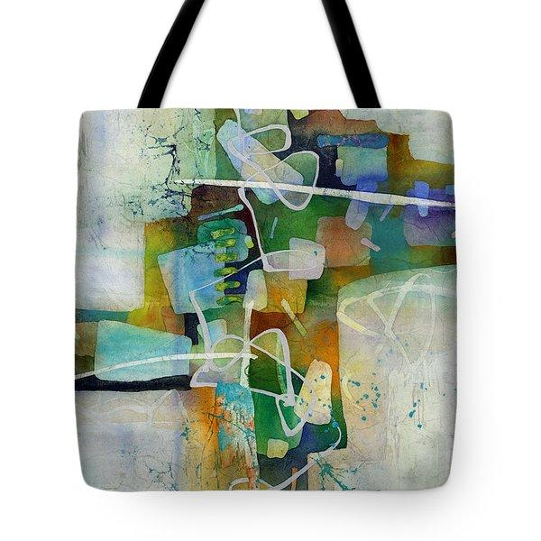 Desert Pueblo  Tote Bag by Hailey E Herrera