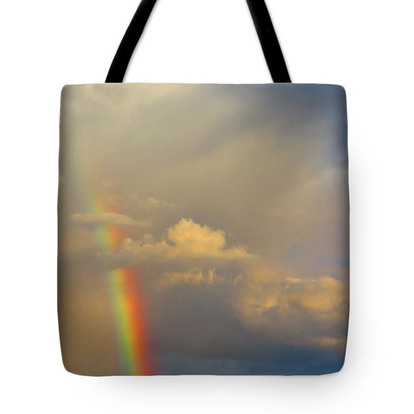 Desert Rainbow Tote Bag