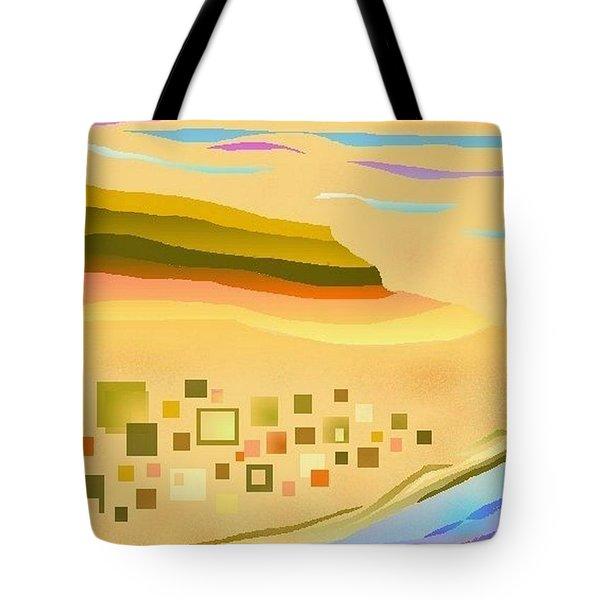 Desert River Tote Bag