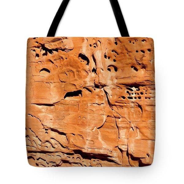Desert Rock Tote Bag by Rae Tucker