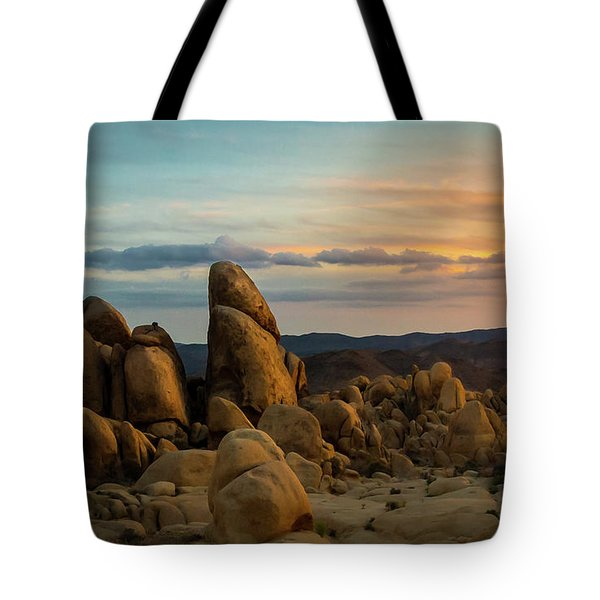 Desert Rocks Tote Bag