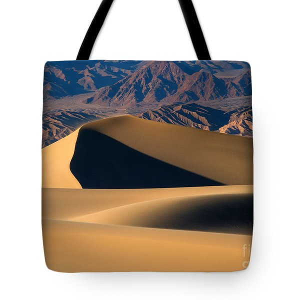 Desert Sand Tote Bag by Mike Dawson