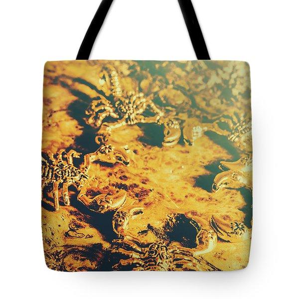 Desert Scorpion Scarabs Tote Bag