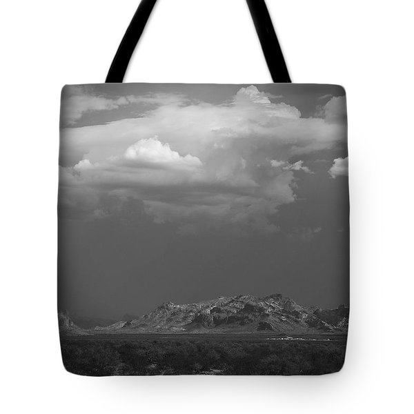 Desert Settlement Tote Bag