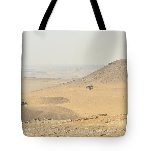 Tote Bag featuring the photograph Desert by Silvia Bruno