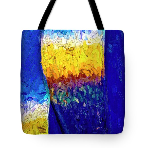 Tote Bag featuring the photograph Desert Sky 1 by Paul Wear
