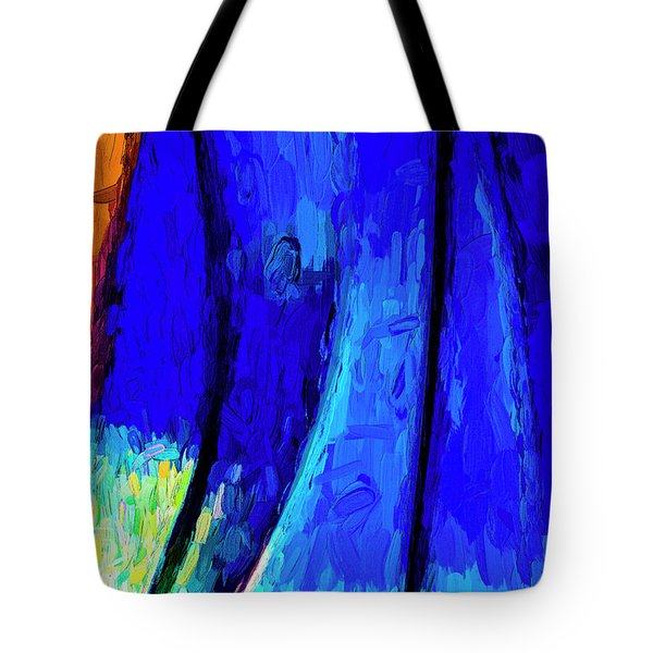 Tote Bag featuring the photograph Desert Sky 2 by Paul Wear