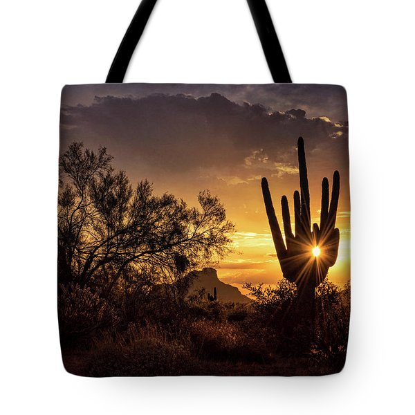 Tote Bag featuring the photograph Desert Skylight  by Saija Lehtonen