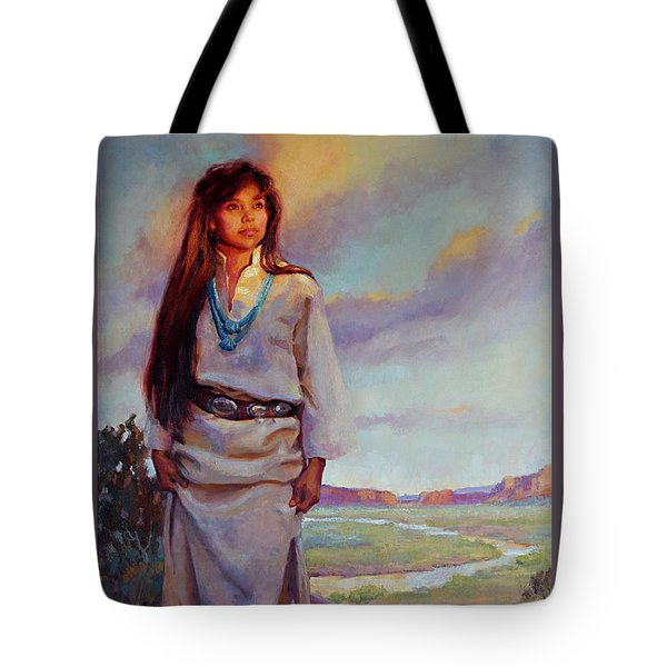 Desert Song Tote Bag