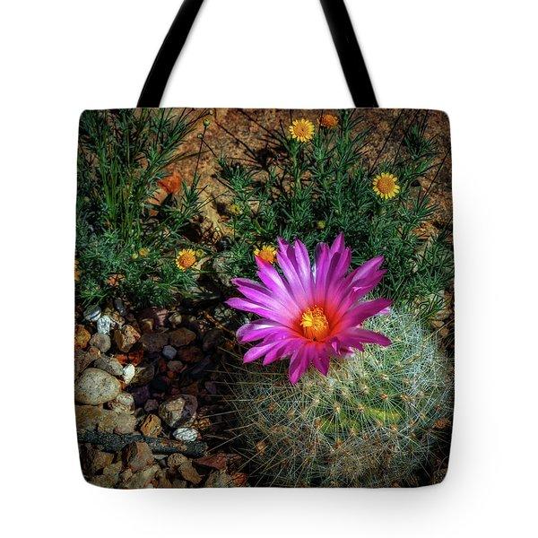 Desert Splash Tote Bag
