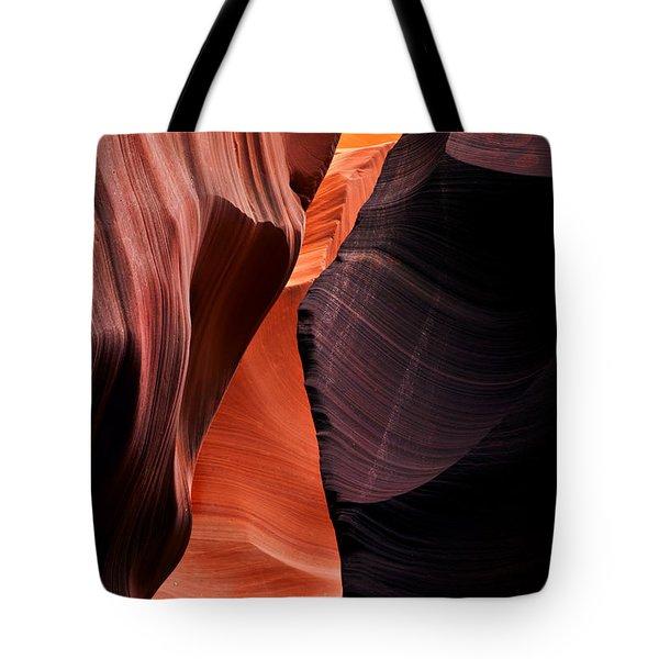 Desert Split Tote Bag by Mike  Dawson