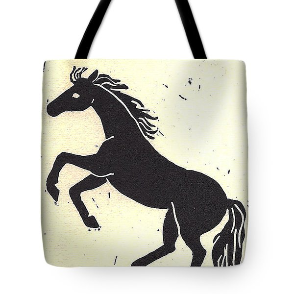 Desert Stallion Tote Bag by Dawn Senior-Trask