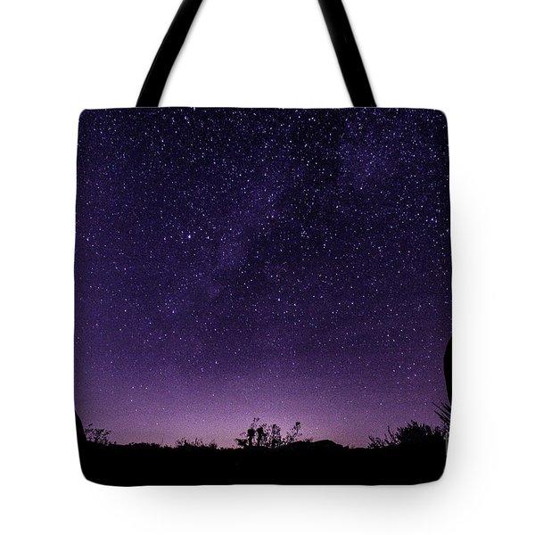 Desert Starscape Tote Bag