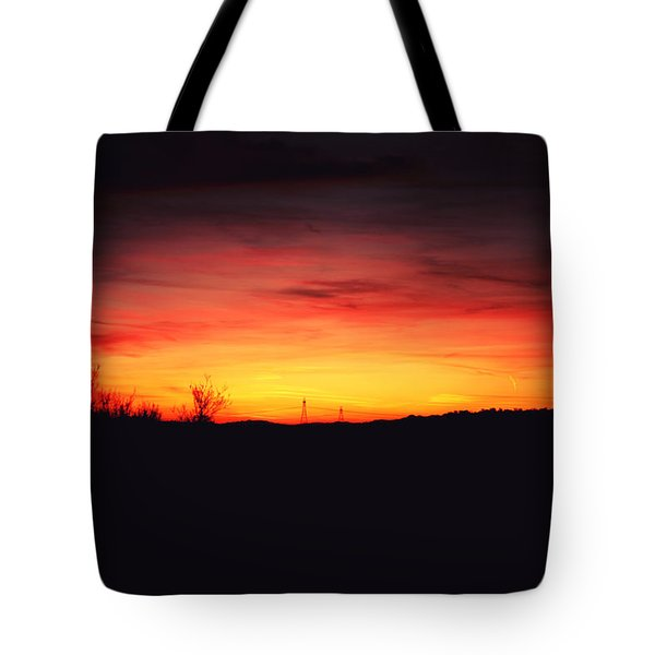 Desert Sundown Tote Bag