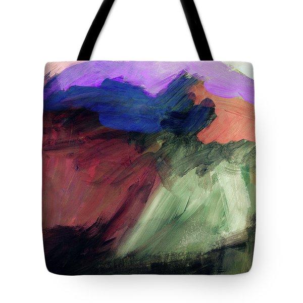 Desert Sunset 1- Art By Linda Woods Tote Bag