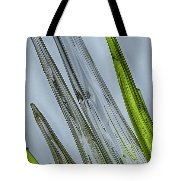 Glass Tote Bag by Anne Rodkin