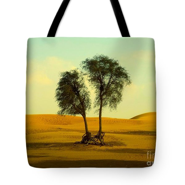 Desert Trees Tote Bag