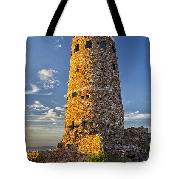 Tote Bag featuring the photograph Desert View by Tom Kelly