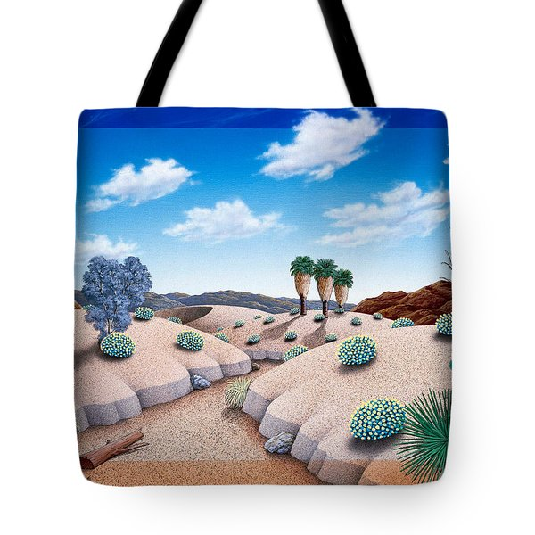 Desert Vista 2 Tote Bag by Snake Jagger