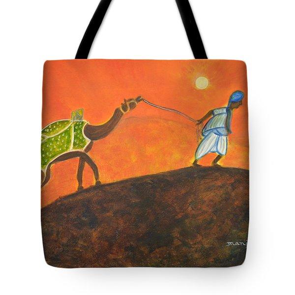 Desert Walk Tote Bag