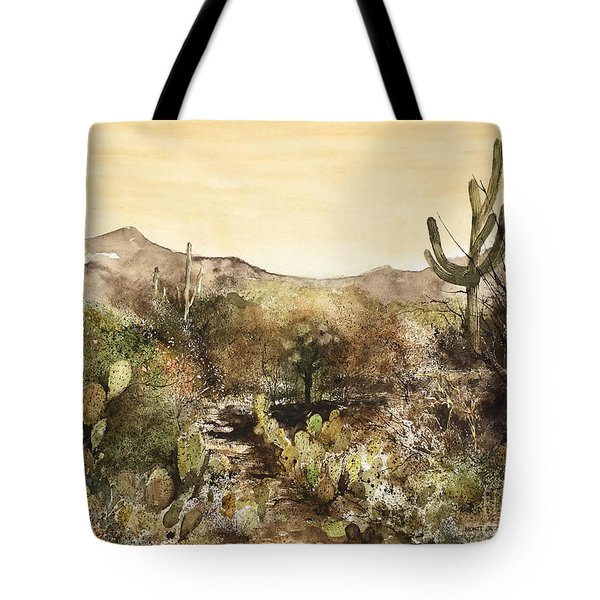 Desert Walk Tote Bag