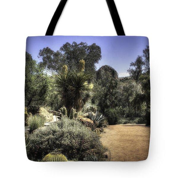 Desert Walkway Tote Bag