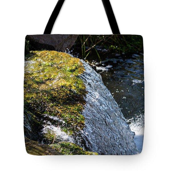 Desert Waterfall Tote Bag