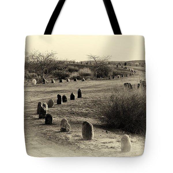 Desert Ways Tote Bag