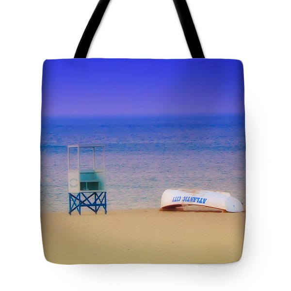 Deserted Beach Tote Bag by Bill Cannon