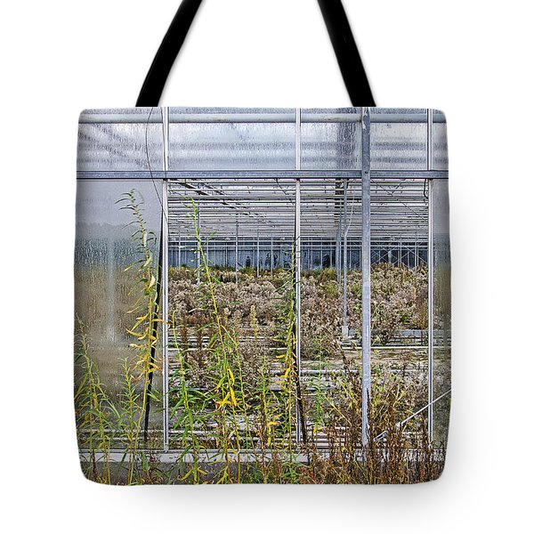 Deserted City Of Glass Tote Bag