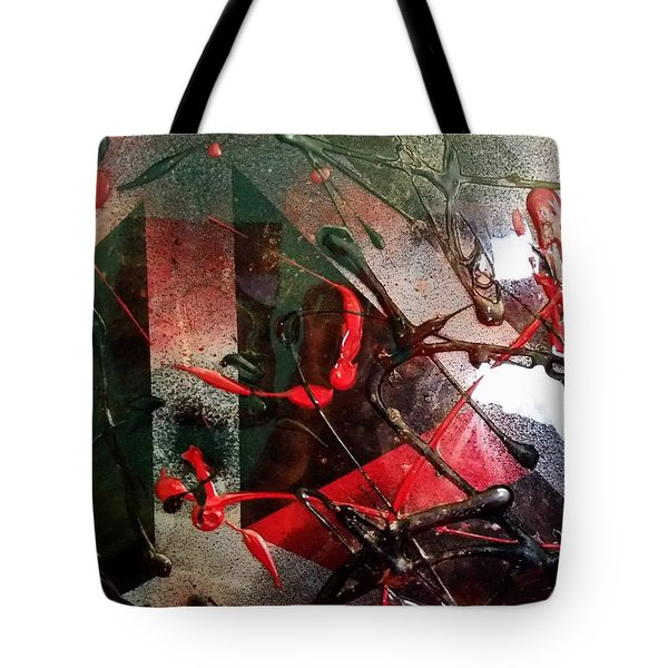 Design In Abstract Tote Bag