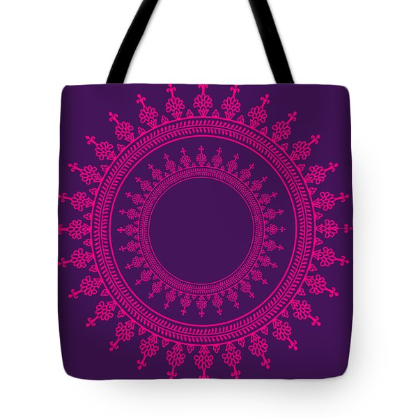 Design In Pink Tote Bag