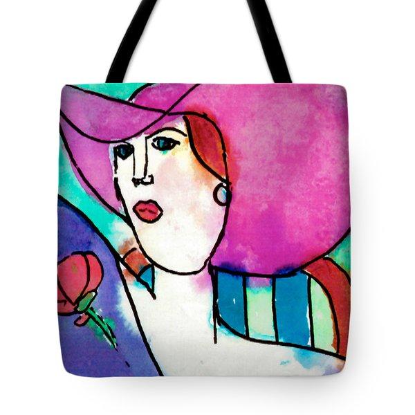 Design Lady Tote Bag